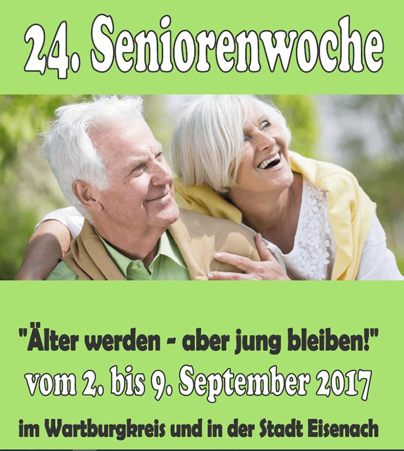 Erste Seite des Programmheftes der Seniorenwoche