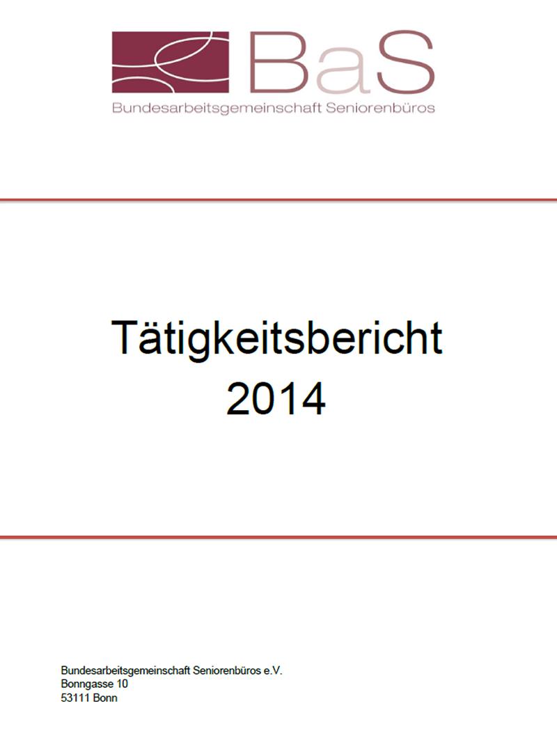 Tätigkeitsbericht 2014
