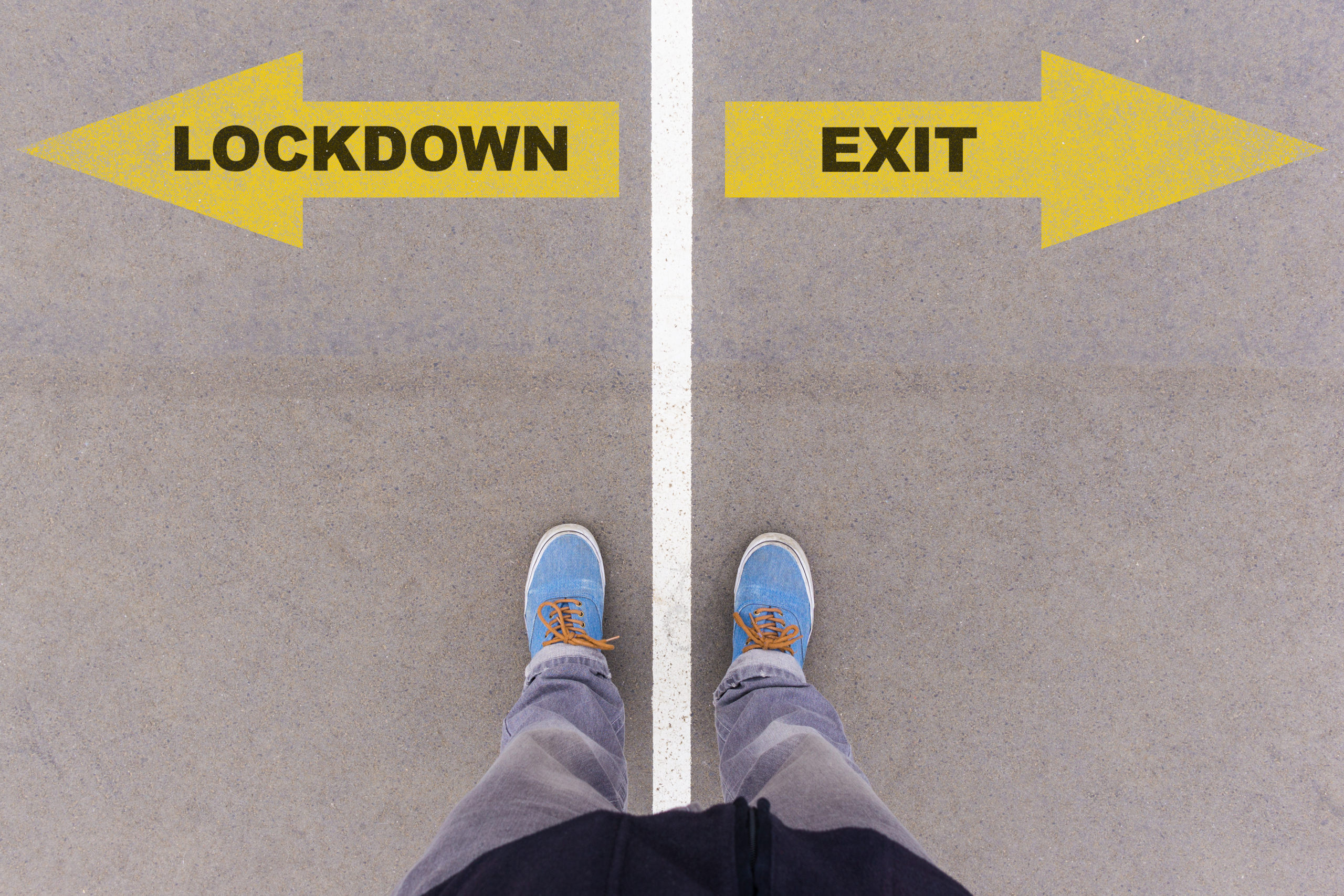 Lockdown oder Ausgang aus der Corona-Krise